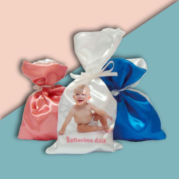 Sacchetto in tessuto per bomboniere